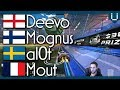 INSANE 180 BACKFLIP FLICK | Deevo, Mognus, al0t & Mout | 2v2 Showmatch
