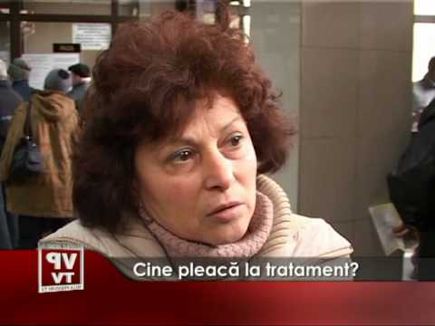 Cine pleacă la tratament?