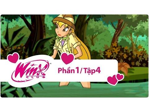 Winx Club Phần 1 - Những tiên nữ Winx xinh đẹp - Tập 4
