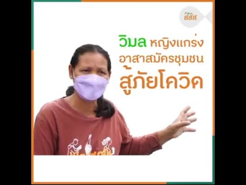 thaihealth วิมล หญิงแกร่ง อาสาสมัครชุมชนสู้ภัยโควิด