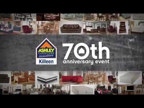70th Anniversary Ashley Furniture Homestore Sale