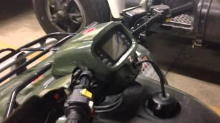 6. 2011 Honda foreman 500 power steering.