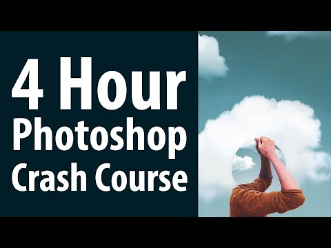 Four Hour Photoshop Crash Course