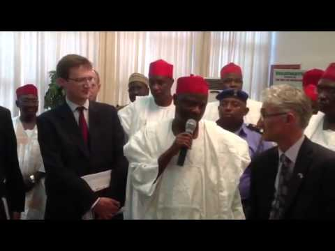 DFID Secretary General On Official Visit To His Excellency  Governor Rabi'u Musa Kwankwaso In Gov...