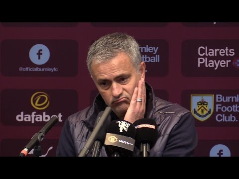 Burnley 0-2 Manchester United - Jose Mourinho Full Post Match Press Conference (видео)