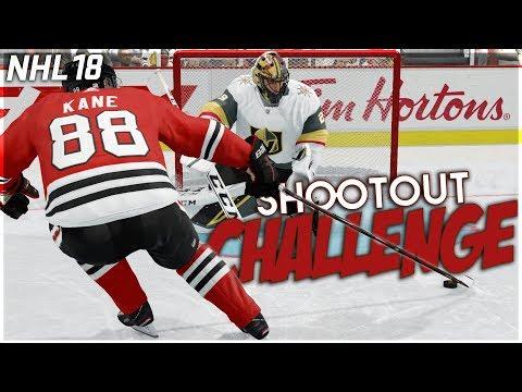 NHL 18 SHOOTOUT CHALLENGE #3 (видео)