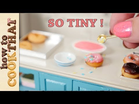 Teeny Weeny Challenge #5 How Small Can I bake Miniature donuts?