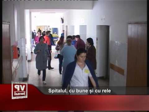 Spitalul, cu bune și cu rele