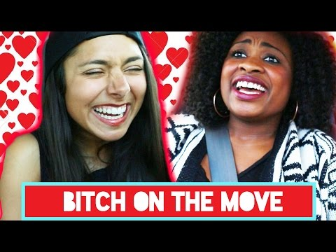 The Worst Parts About Valentine's Day | Bitch On The Move Ep. 3 (видео)