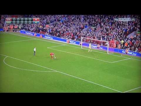 Liverpool vs Middlesbrough 2015 League Cup Penalty Shoot Out Part 1