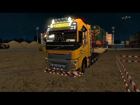 Volvo FH 2012 8x4 and 10x4 V9 ETS 21.26.x.x