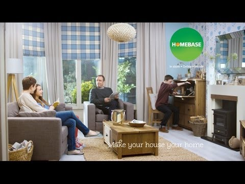 Bland homes given a colour injection in new 'Make Your House Your Home' Homebase ad video