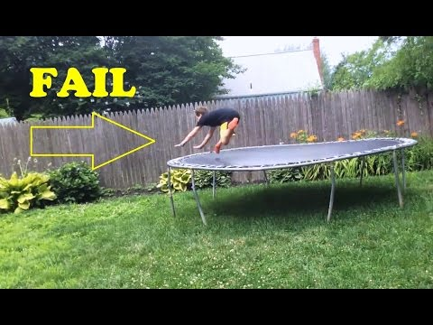 Trampoline Jump Fails Compilation 2016 [NEW]