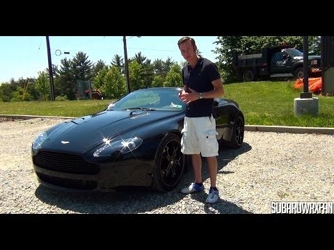 Review: 2007 Aston Martin V8 Vantage Roadster