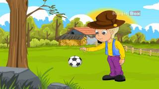 All Work No Play - English Nursery Rhymes - English Cartoon Nursery Rhymes