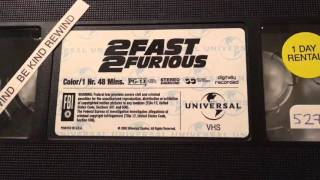 Nonton UNBOXING: 2Fast2Furious VHS Film Subtitle Indonesia Streaming Movie Download