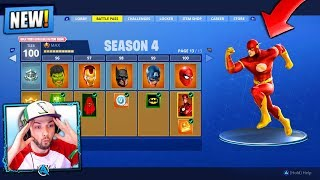 *NEW* SEASON 4 - Fortnite: Battle Royale! (SUPER HEROES)