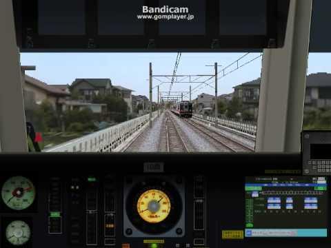 【BVE4】東武式ATS試験線を 東京メトロ10000系 で走行