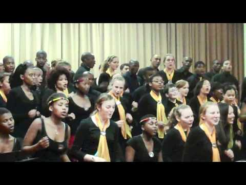 The Click Song - Boston City Singers at UWC