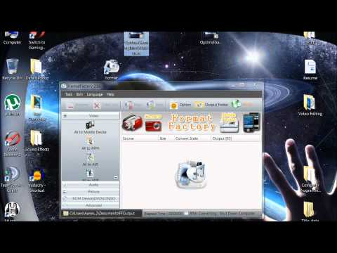 How To Use Format Factory [Tutorial][HD][720p]