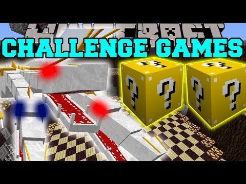 Minecraft: THE KING CHALLENGE GAMES – Lucky Block Mod – Modded Mini-Game