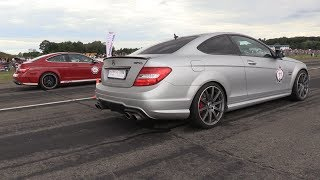 During the SCC500 Rolling50 1000 I have filmed a modified Mercedes-Benz C63 AMG Black Series. It is tuned my GAD MOTORS and has now 1100HP!. It did some drag races with a 1080HP Mercedes C63 AMG Coupe by GAD MOTORS and a 900HP Porsche 9ff! I hope you will enjoy the video!VMAX GAD C63 BS: 293.59 km/hGAD C63 AMG Coupe: 301.80 km/hPorsche 9ff: 301.05 km/hFeel free to hit the 'thumbs up' button if you like the video! Make sure that you follow me on YouTube and subscribe to my supercar channel for the latest videos!BE SURE AND WATCH THIS VIDEO IN 1080p HD 50FPS QUALITY!Facebook: http://www.fb.com/cvdzijdenInstagram: https://instagram.com/cvdzijdenThanks for watching!Ciao, Chris /CvdZijden