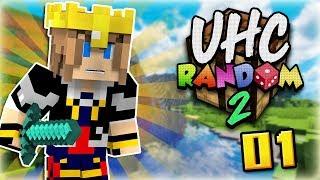 UHC RANDOM 2 #01   Tous les craft aléatoires !