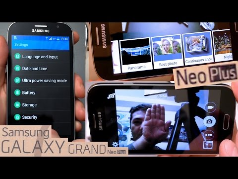 Samsung Galaxy Grand Neo Plus Unboxing + Camera features