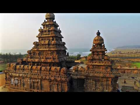Mahabalipuram Drone Video