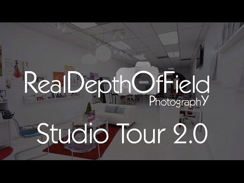 RealDepthOfField Photography Studio Tour 2.0