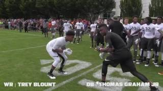 The Opening 2016 | WR vs DB 1 on 1's (WIDE ANGLE)