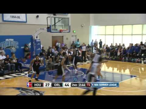 Houston Rockets vs Orlando Magic Summer League Highlights 7/7/2014