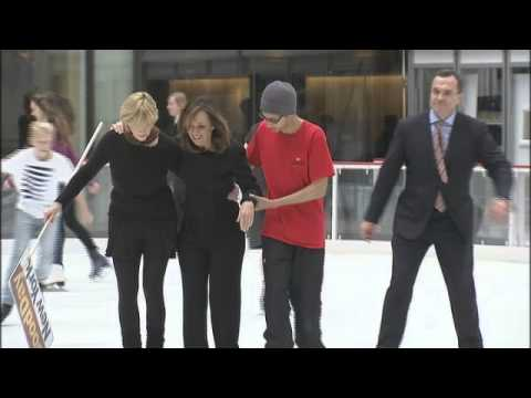 skating - Good Day New York co-host Rosanna Scotto fell and broke her wrist and elbow while shooting a segment on the ice at the Rink at Rockefeller Center on Wednesday. Rosanna and co-host Greg Kelly...