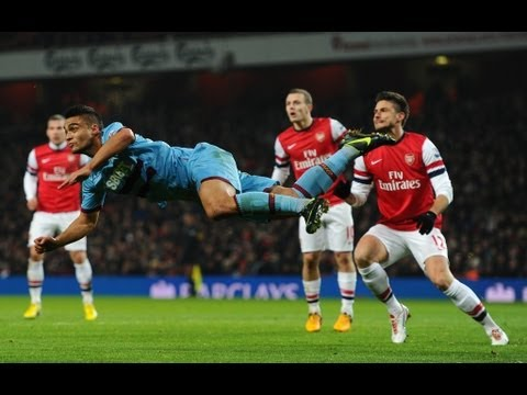 Arsenal 5-1 West Ham  All Goals (23 01 2013)  HD - Nikolasoft TV