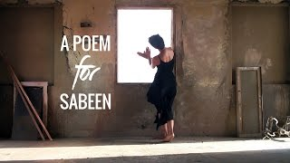 A Poem For Sabeen