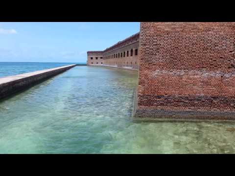 Gingrigh Washington Jefferson - Walking tour of Ft. Jefferson. Located due west of Key West, Florida in the Gulf of Mexico. Intended for use to protect the Gulf ports, but primarily used by...
