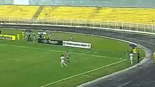 SANTOS FC 5 x 1 Náutico - Copa São Paulo 15/01/2013