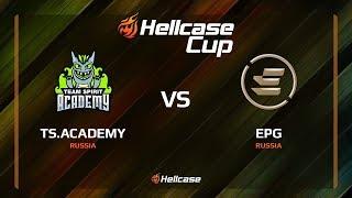 TS.Academy vs EPG, train, Hellcase Cup 6