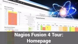 Homepage - Nagios Fusion