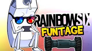 Rainbow Six Siege FUNTAGE! - Mannequin Challenege, Rook Armor & MORE!
