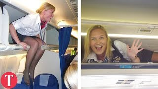 Video 10 Weird Requirements To Work As A Flight Attendant MP3, 3GP, MP4, WEBM, AVI, FLV Juni 2019