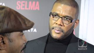 Tyler Perry hints at 'another' movie on Martin Luther King on SELMA carpet