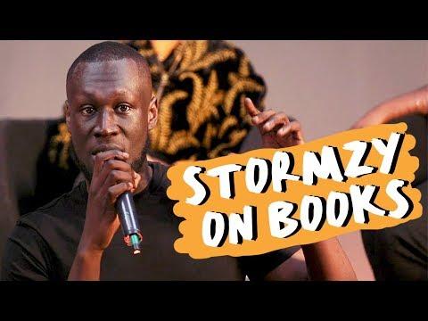 Stormzy Crashes a #MerkyBooks School Talk