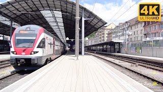 Olten Switzerland  City pictures : 4K Bahnhof Olten. Schweiz. Switzerland. Suiza.