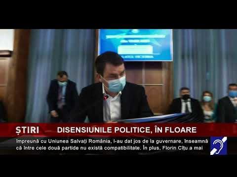 Disensiunile politice, în floare