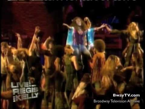 Hair - Aquarius (Bayardelle/DeGarmo/Young) on Regis & Kelly 04-28-10