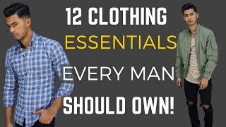 Video 12 Clothing Items Every Man Should Own MP3, 3GP, MP4, WEBM, AVI, FLV Desember 2018