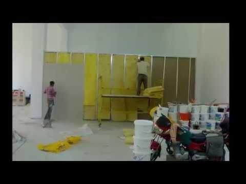 alçıpan duvar nasıl yapılır