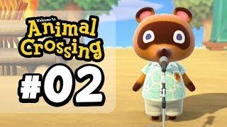 TOM NOOK CONSPIRACY!!   Animal Crossing New Horizons (Episode 2) by Tyranitar Tube