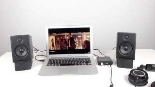 In this video I go through my desktop audio equipment that I use on a daily basis to get the best quality sound. The Audioengine D1 DAC, A2 Powered Speakers and Audiotechnica ATH-M50X combined make a great setup. Links to products below.Audioengine A2+: http://amzn.to/2kGayYeAudioengine D1 DAC: http://amzn.to/2lFzZZVSpeaker Stands: http://amzn.to/2lFuTNiAudiotechnica ATH-M50X: http://amzn.to/2kFWbn2Follow me on Twitter http://bit.ly/naPkja